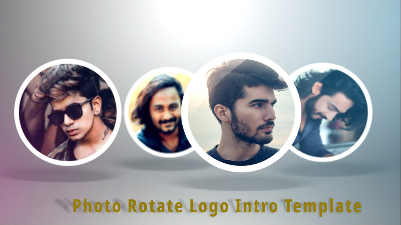 Photo Rotate Logo Intro Template - Free After Effects Intro Template