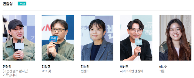 第57屆百想藝術大賞-電視部門入圍名單