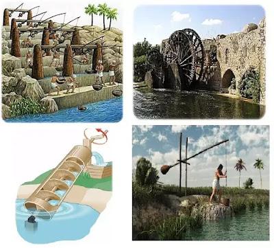 Ancient Egyptians Irrigation Tools