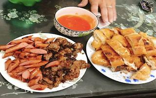 Quán bánh mì tại Ngã 6, tp Lạng Sơn