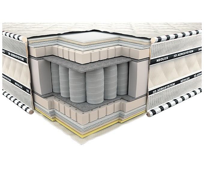 Ортопедический матрас 3D Империал Латекс Зима-лето PS 80х190 ТМ Неолюкс