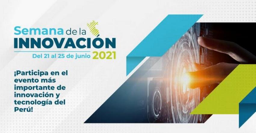 FONDEP participará en la Semana Nacional de Innovación de Concytec (21 al 25 de Junio)