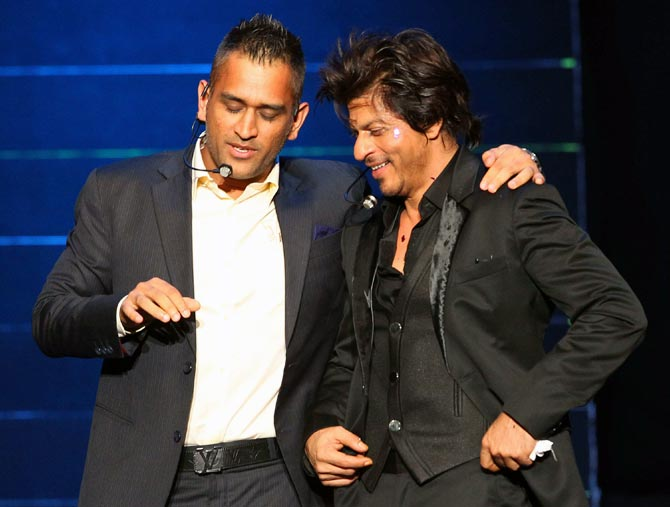 shahrukh khan describes ms dhoni