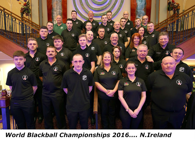 World Blackball Championships 2016 N. Ireland