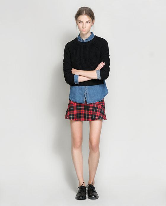 Charada   Tendencias  Faldas de cuadros escoceses b22b795a399f