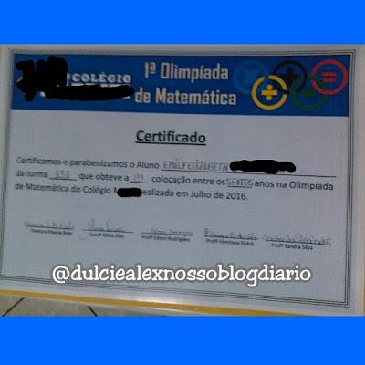 Olimpíadas da Matemática Nosso Blog Diário http://dulcineiadesa.blogspot.com.br