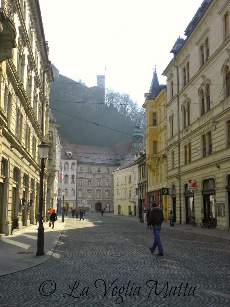 reportage Ljubljana Castello