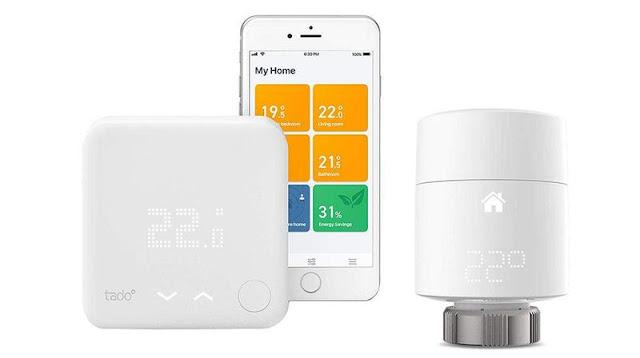 5. Tado Smart Thermostat Starter Kit V3+