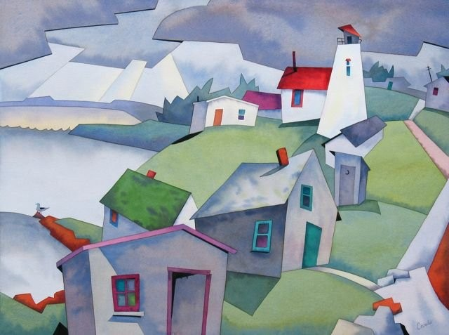 Канадский художник. Barry Coombs 7