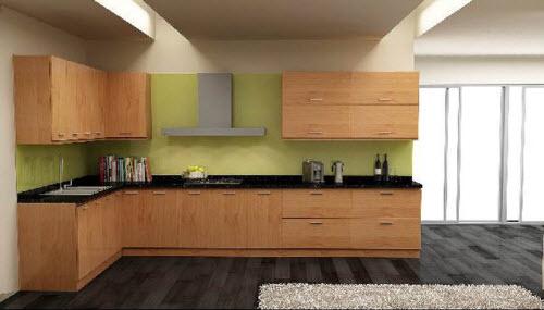 Tủ bếp gỗ Laminate là gì?