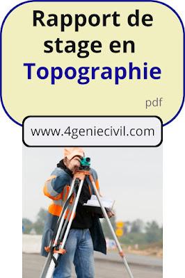 stage géomètre topographe, stage professionnel en topographie