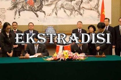 4 Dampak Perjanjian Ekstradisi Internasional