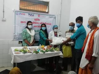 मुक्ति परियोजना क्षय रोगी पोषण परियोजना का आयोजन