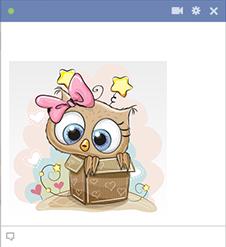 Girl owl emoji