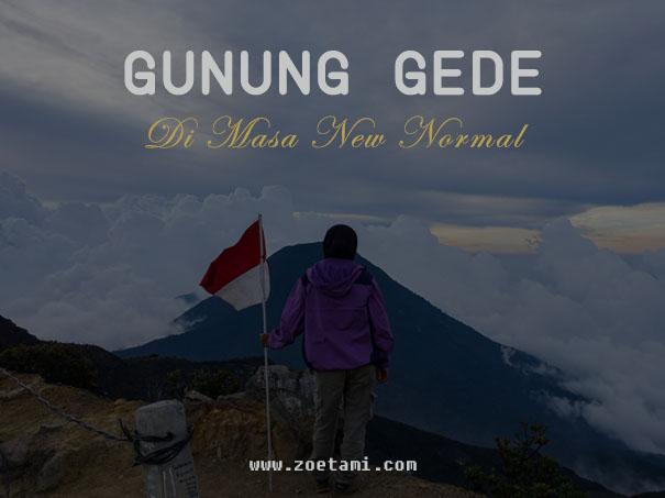Info Pendakian Gunung Gede Pangrango