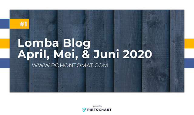 lomba blog april, mei, juni 2020