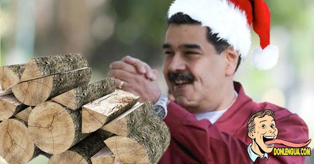 LEÑA? Maduro promete que entrará por la chimenea para entregar regalos en Navidad