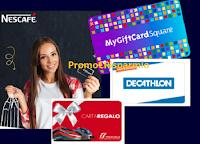 """""""Nescafè 2020 - II semestre"""" : vinci 400 MyGiftCard da 25 euro da spendere in vari negozi"""