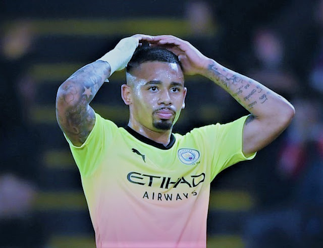Sports: Fans Blast Gabriel Jesus For Penalty Miss