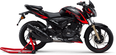 Top 10 bikes in India, TVS apache RTR 200 4V