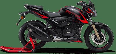 Top 10 bikes in India, TVS apache RTR 200 4V