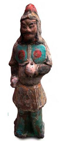 patung di makam perkuburan china