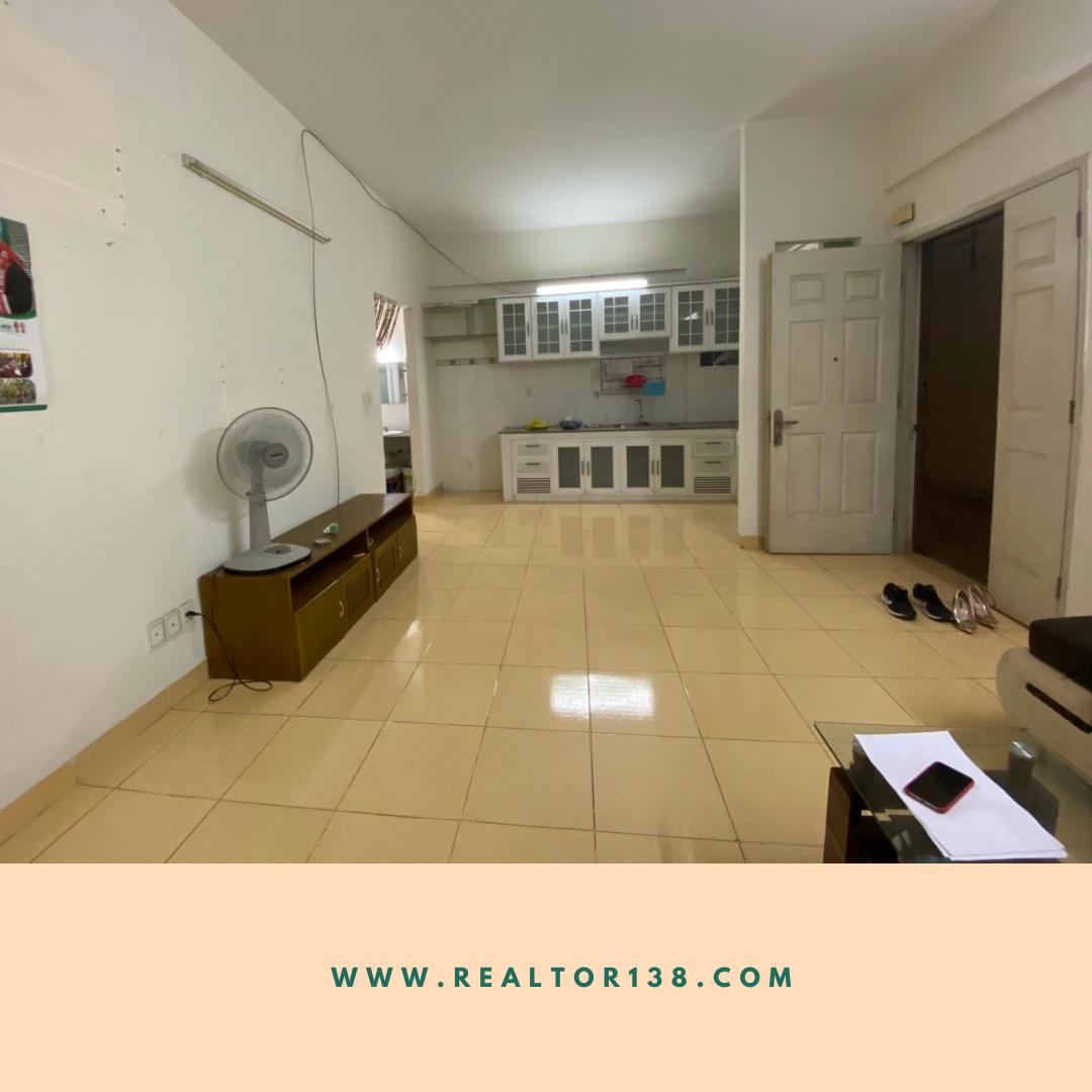 Cho thuê căn hộ 2 phòng ngủ chung cư Lê Thành block A3