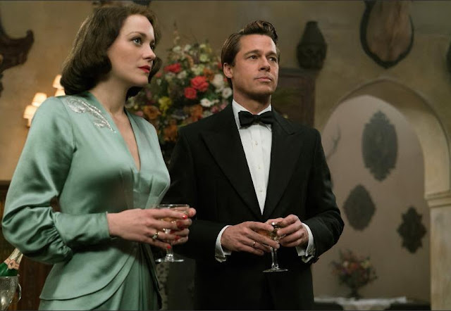 "Marion Cotillard and Brad Pitt are spies with secrets in ""Allied"""