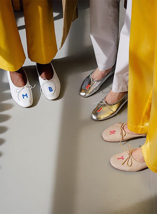 mansur gavriel ballet slippers