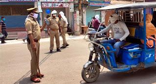एसपी के निर्देश पर पुलिसकर्मियों का अभियान जारी  | #NayaSaberaNetwork