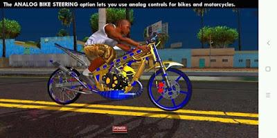 Download mod bike Ninja Dilau for GTA San Andreas Mobile
