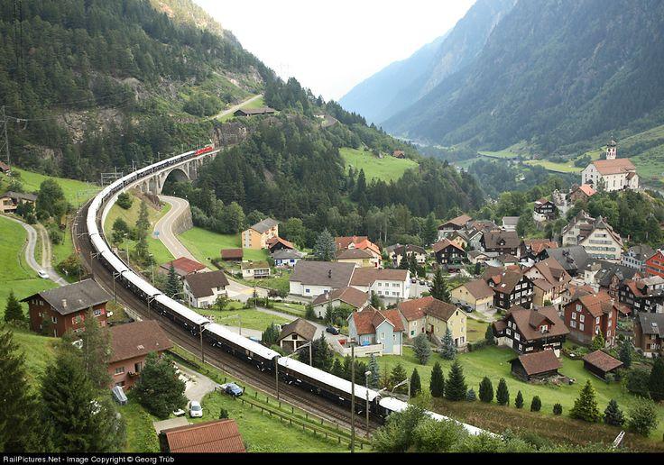 Fast Trains From Switzerland Via Innsbruck And Salzburg To Austria