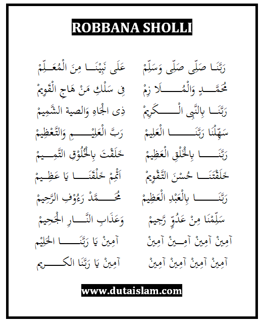 Maula Ya Salli Wa Sallim Daiman Abada : maula, salli, sallim, daiman, abada, Lirik, Maula, Salli, Sallim, Belajar