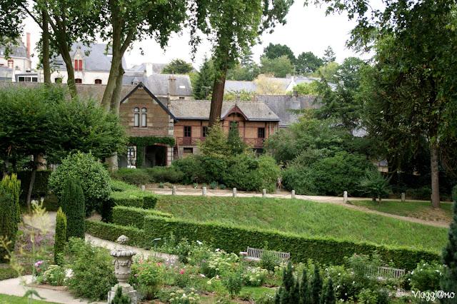 I giardini del castello di Josselin