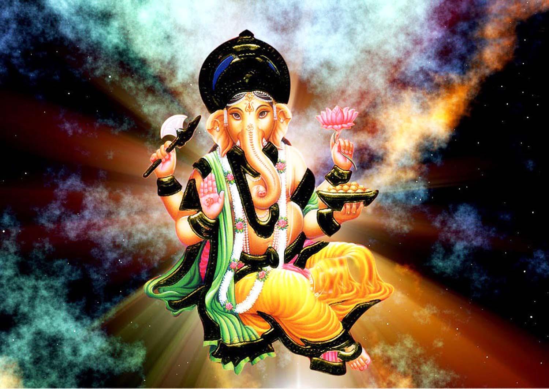 Image god ganesh in vault of heaven!
