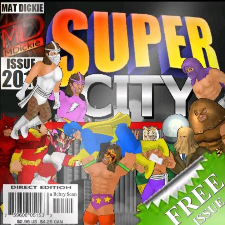 Super City (Superhero Sim) v1.180 MOD APK