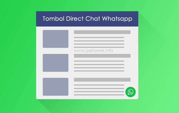 Cara Membuat Tombol Chat Whatsapp Di Blog Dengan SVG