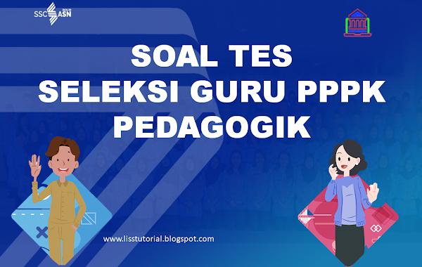 Soal Latihan Seleksi Guru PPPK Mapel Pedagogik