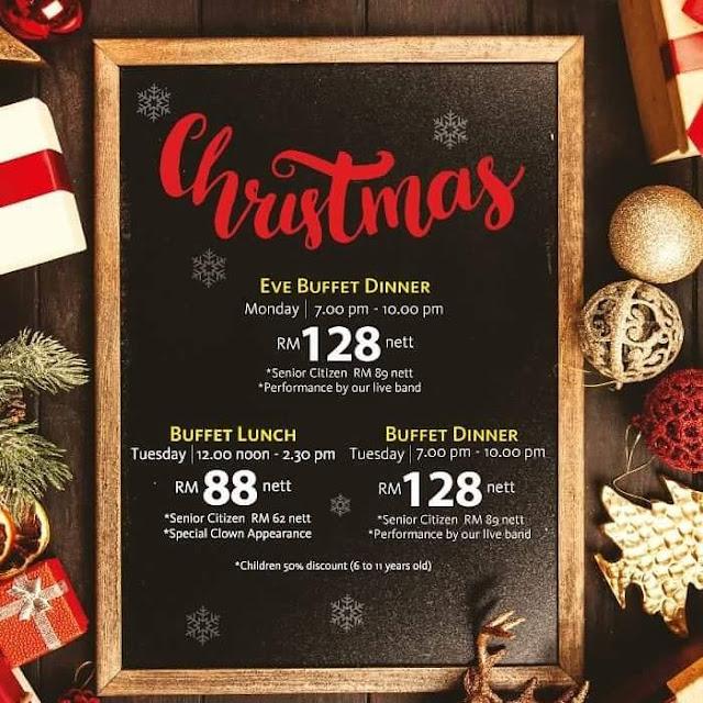 Eastin Hotel Penang Christmas Buffet 2018