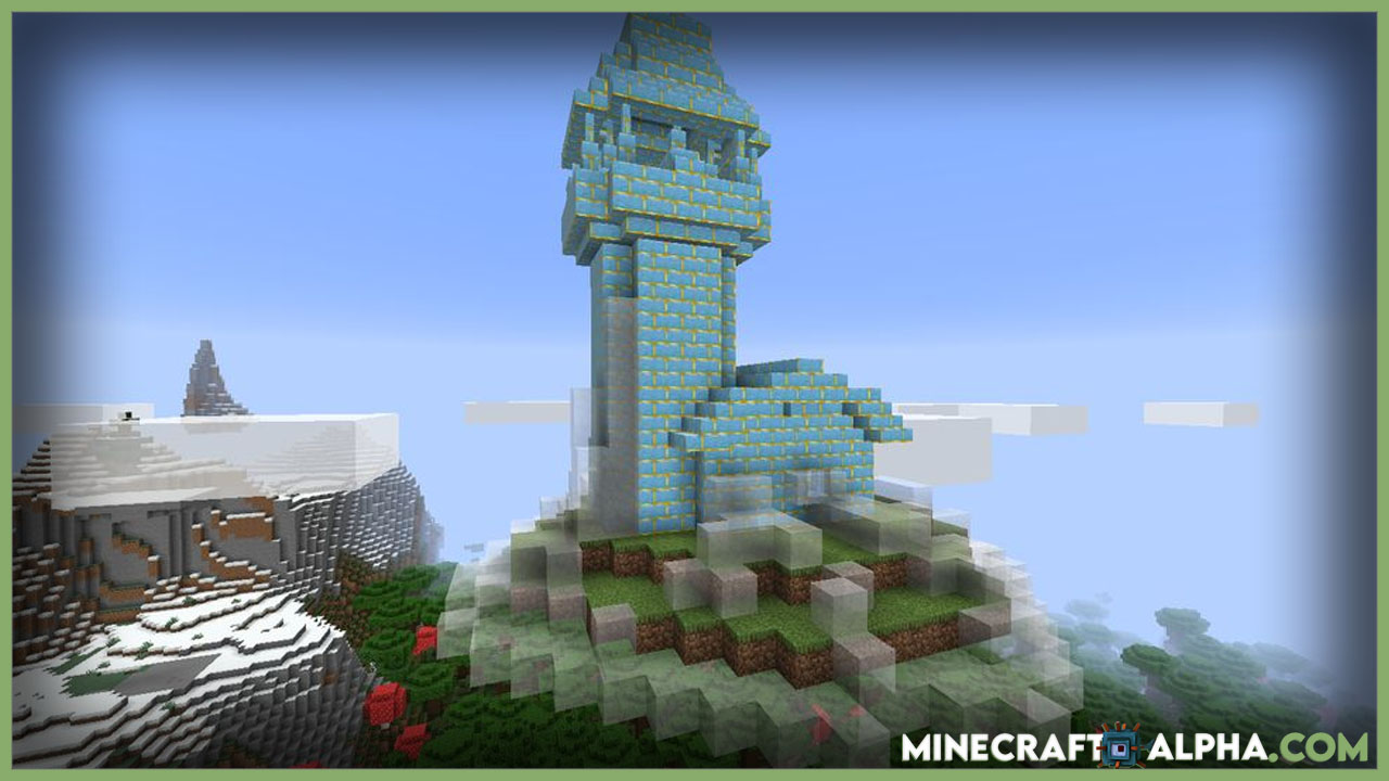 Minecraft Terrarian Floating Islands Mod 1.16.5 (Structures)