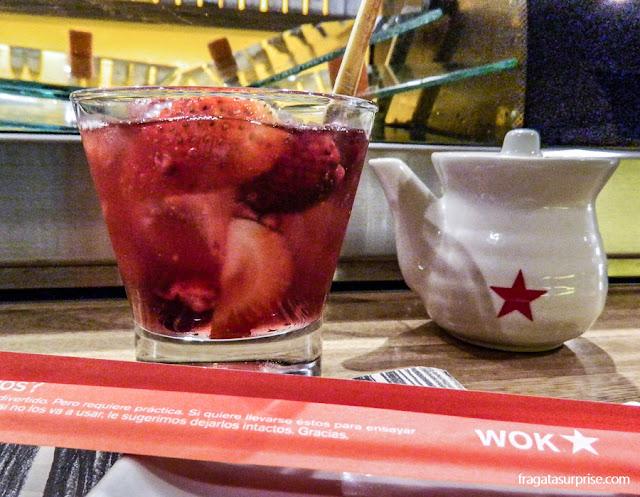 Restaurante Wok, no Parque de la 93, Chapinero, Bogotá