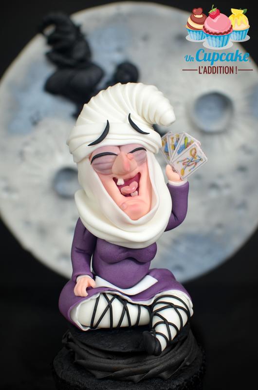 Cupcakes Sorginen Akelarrea - María de Garro