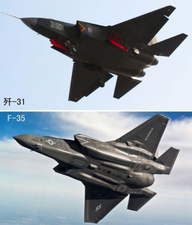 J-31 dan F-35