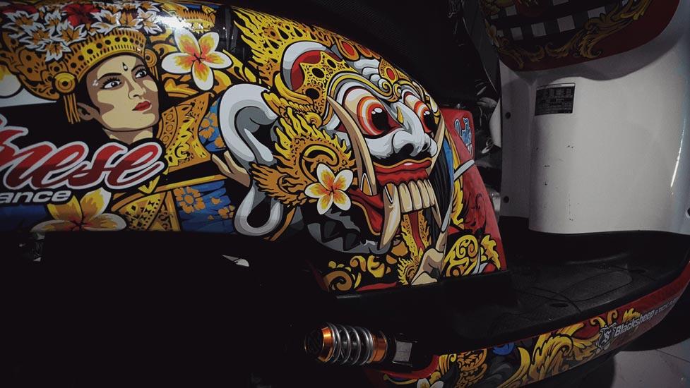 Scoopy Bali Mask Dance rangda