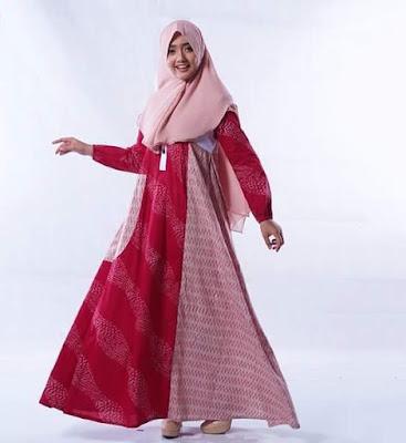 Contoh Baju Batik Gamis
