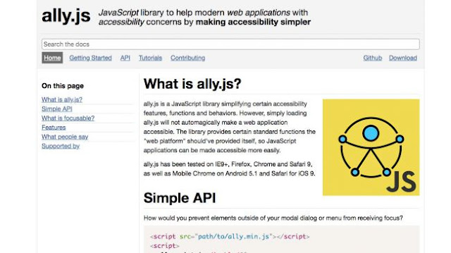 ally.js-Web Design tools to streamline your workflow and boost creativity-Hire A Virtual Assistant