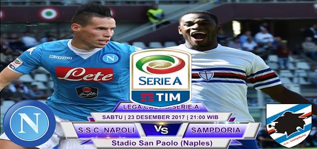 Napoli vs Sampdoria 23 Desember 2017