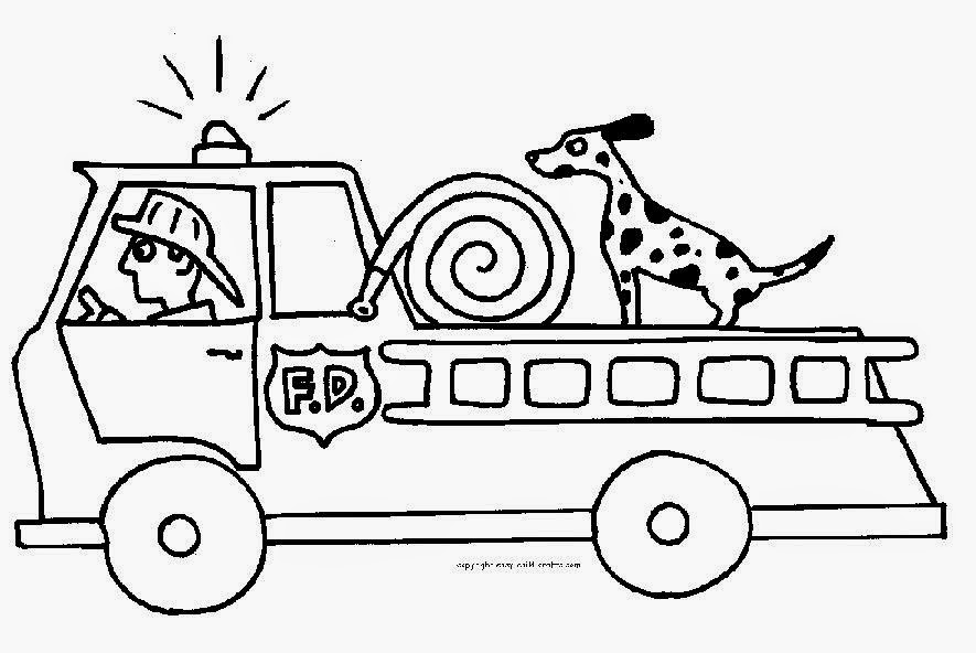 HD Fire Truck Coloring Page Galleries – Cool Wallpaper