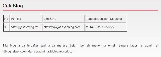 Cara Mendaftar di Idblognetwork IBN Paling Cepat