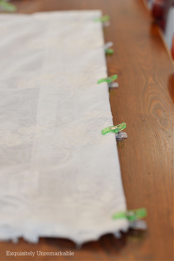 Clipped Lace Panels